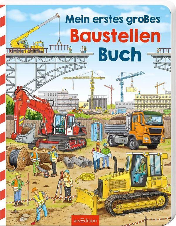 Mein gr, Baustellenbuch | Ars Edition