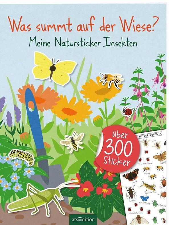 Natursticker Insekten | Ars Edition
