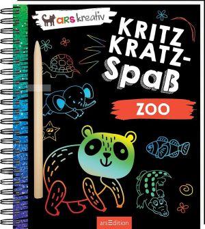 Kritzkratz-Spaß Zoo | Ars Edition