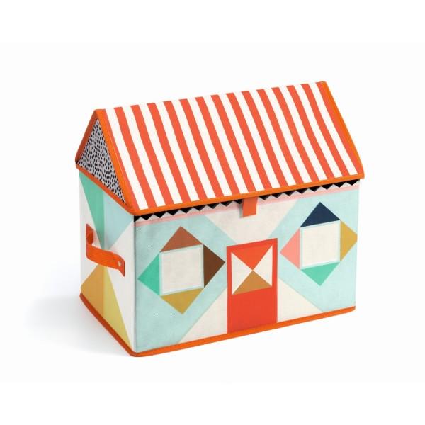 Spielzeugtruhe: Haus | Djeco