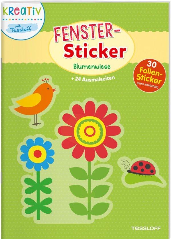 Fenster-Sticker Blumenwiese | Tessloff Verlag