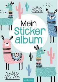 Mein Stickeralbum - Lamas | Ars Edition