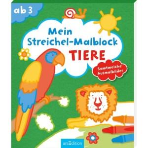 Flocking Malblock Tiere | Ars Edition