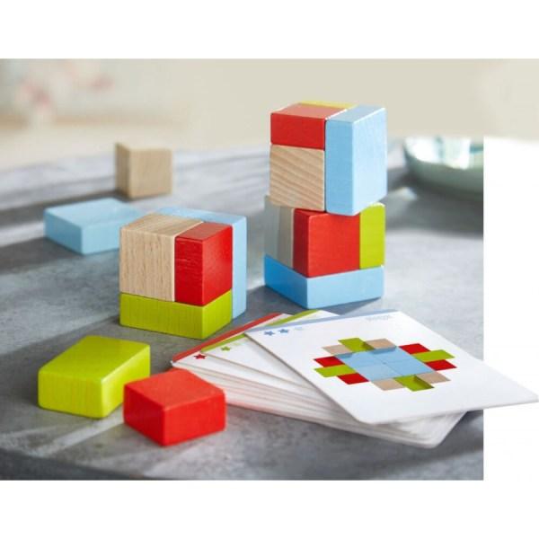 3D - Legespiel Vier mal vier | Haba