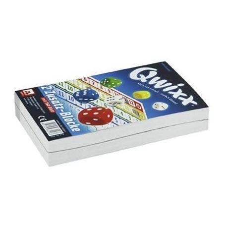 Qwixx,2 Zusatzblöcke,160 Blat | Aurich