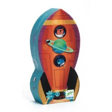 Formen Puzzle: Spaceship | Djeco