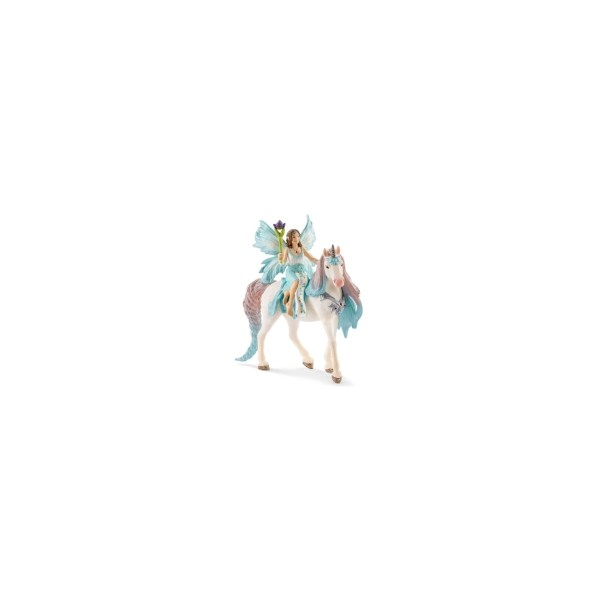 Eyela + Prinzessinnen-Einhorn   Schleich