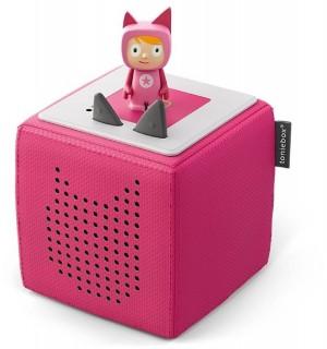 Toniebox Starterset Pink (Kreativ-Tonie) | Tonies-Boxine Sales DAB