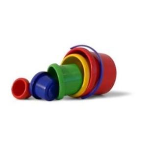 Stapelbecher-Set 5-teilig | Spielstabil