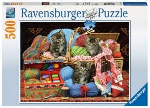 Flauschiges Vergnügen 500p-500 Teile | Ravensburger Spielverlag