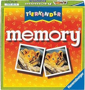 Tierkinder memory® D/F/I-Lustige Kinderspiele | Ravensburger Spielverlag
