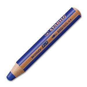 STABILO woody 3 in 1 Farbstift ultramarinblau wasservermalbar   Stabilo