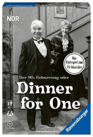 Dinner for one D-Gesellschaftsspiele | Ravensburger Spielverlag