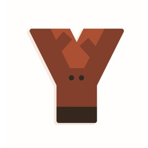 Y - Holzbuchstabe | Djeco