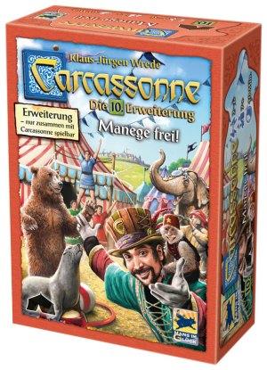 Carcassonne - Manege frei! [Erweiterung 10] | Pro Ludo