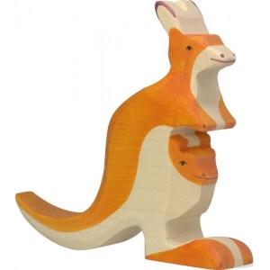 Känguruh mit Jungem | Gollnest