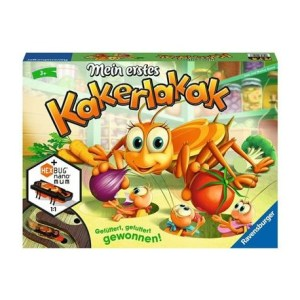 Mein erstes Kakerlakak D-Lustige Kinderspiele | Ravensburger Spielverlag
