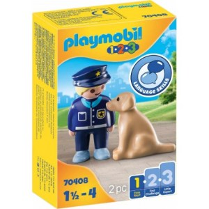 Polizist mit Hund | Playmobil