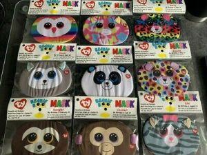 Bamboo Panda Face Mask   Ty UK