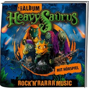Heavysaurus - Rock'n Rarrr Music | Tonies-Boxine Sales DAB