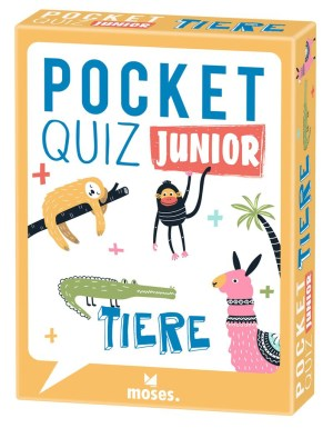 Pocket Quiz junior Tiere | Moses