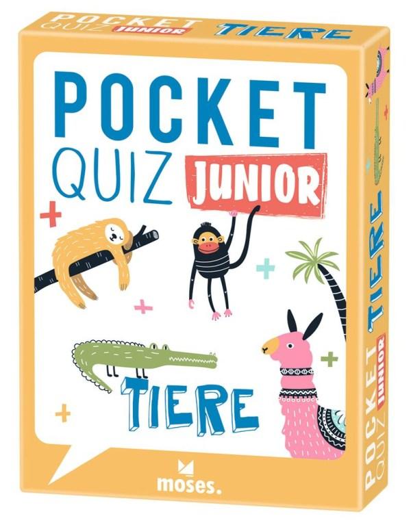 Pocket Quiz junior Tiere | Moses