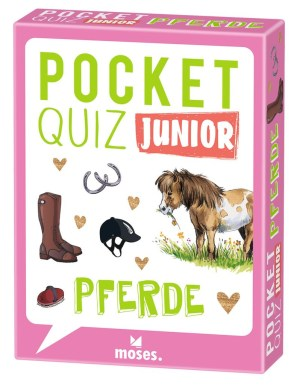 Pocket Quiz junior Pferde | Moses