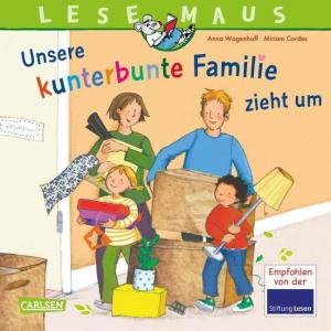 LM 171 Kunterb. Fam zieht um | Carlsen Verlag