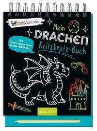 Drachen-Kritzkratz-Buch   Ars Edition