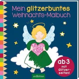 Glitzerb. Weihnachts-Malb.   Ars Edition