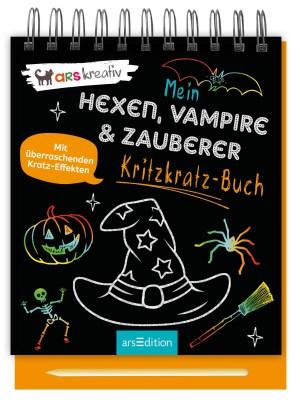 Kritzkratz: Hexen, Vampire   Ars Edition