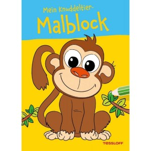 Mein Knuddeltier-Malblock (Af   Tessloff Verlag