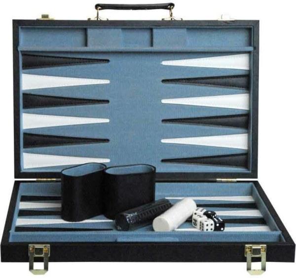 Backgammon 'RAVEN' 38 x 24 cm | Weible