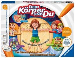 Dein Körper und du D-tiptoi Spiele/Puzzles | Ravensburger Spielverlag