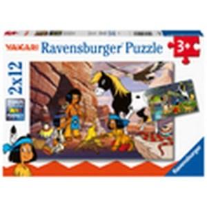 Unterwegs mit Yakari 2x12p-2 X 12 Teile | Ravensburger Spielverlag