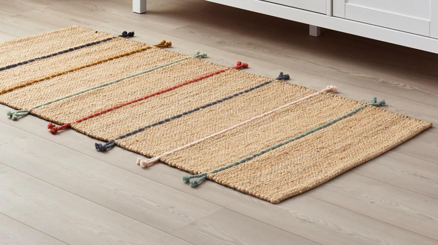 carpettes et petits tapis ikea
