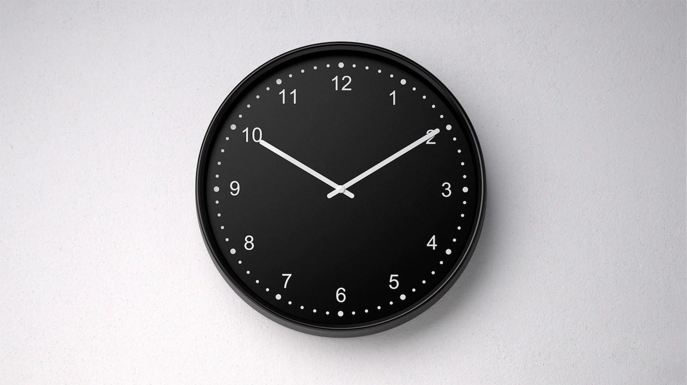 Horloge Horloges Murales Ou Sur Pied Reveils Ikea
