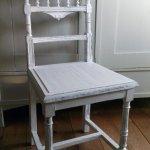 Antiker Stuhl Mit Saulen Im Shabby Chic Aus Frankreich Ebay Vorlage Standard