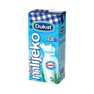 Mlijeko trajno 2,8% m.m. 1L, Dukat