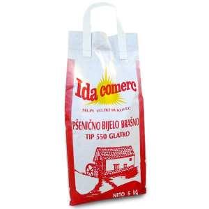 Pšenično brašno glatko tip 550 5kg Ida Comerc