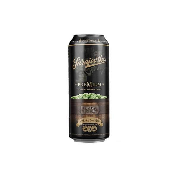 Sarajevsko premium pivo 0,5L lim.