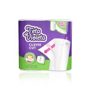 Papirnati ručnici Teta Violeta Picnic Clever Cut 2/1