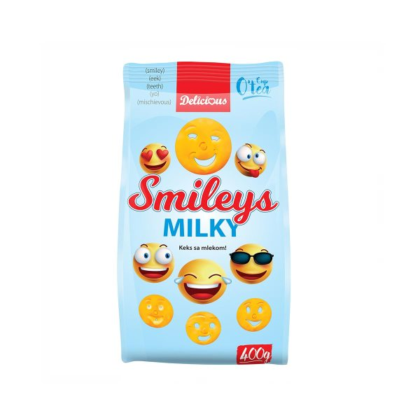 Smileys Milky čajno pecivo 400g