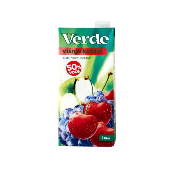 Sok Verde višnja nektar 1L