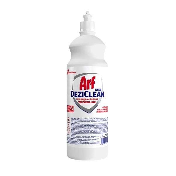 Arf DeziClean za dezinfekciju i čišćenje WC školjke 1L
