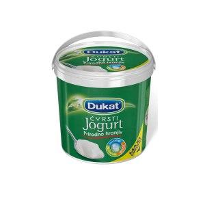 Jogurt čvrsti s 3,2% m.m. 800g, Dukat