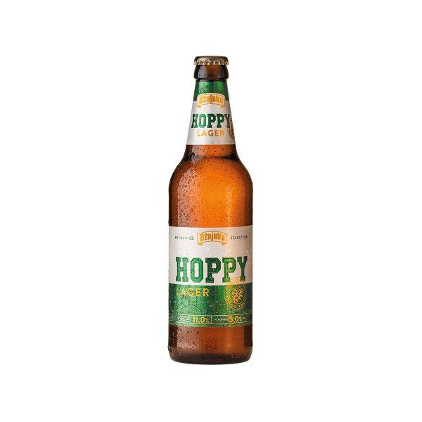 Pivo Ožujsko Hoppy lager 0,5L