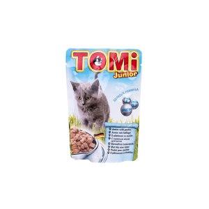 Tomi Vrećica za mačke Junior perad 100g