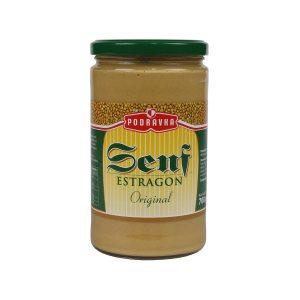 Senf s okusom estragona 700g, Podravka