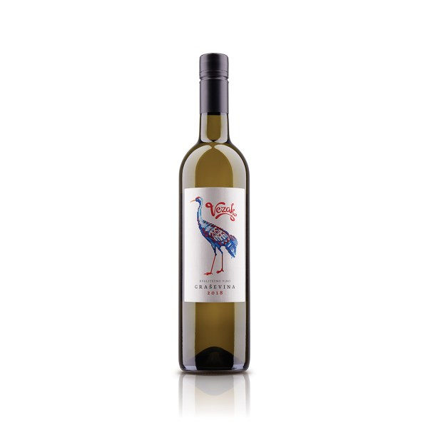 Vino kvalitetno Vezak Graševina 0,75L, Badel 1862